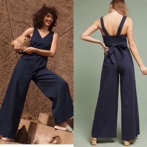 Anthropologie | Chino Jumpsuit | Size 8